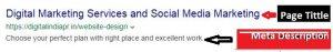 ON-Page SEOtittle-description|digitalindiapr